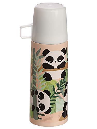 MIK funshopping thermosfles Panda Pandarama 350 ml roestvrij staal