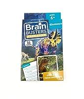 ブレインバスターズ カードゲーム 150以上のトリビア質問 教育フラッシュカード付き 恐竜