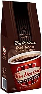 Tim Horton's 100% Arabica Dark Roast, Ground Coffee, 12 Ounce