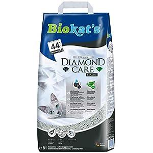 Biokat 's Diamond Care Classic - Arena Fina para Gatos con carbón Activo y Aloe Vera (1 Unidad) 6
