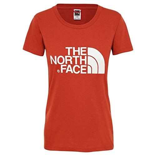 The North Face - Tee-Shirt Easy Femme S - Rouge