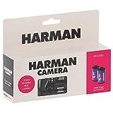 harman - fotocamera usa e getta, ricaricabile, con 2 pellicole n&b a 36 posti