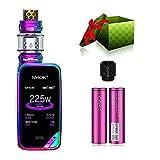 SMOK X-PRIV Kit 225W E Sigaretta Elettronica Kit Completo Vape TC Box Mod con Top Refill TFV12 Prince Tank Atomizzatore 0.4ohm Resistenza Senza Nicotina Tabacco Liquido (7 colori)