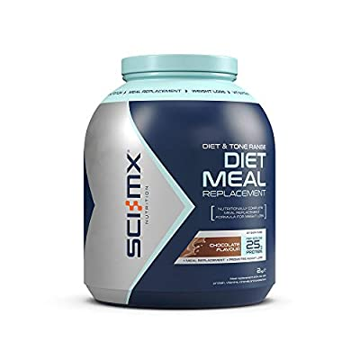 SCI-MX Nutrition Diet Meal Replacement, Protein Powder Meal Shake, 2 kg, Chocolate, 37 Servings
