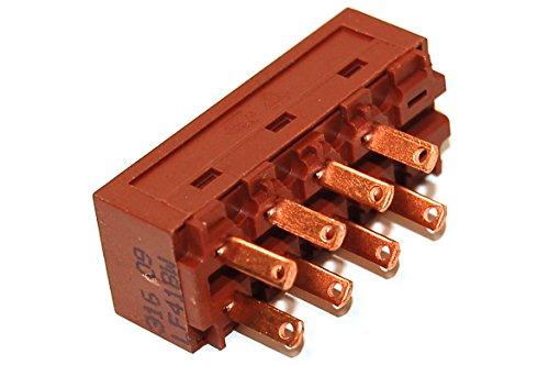 Whirlpool 481927618053 Dunstabzugshaubenzubehör/Original-Ersatzmotorlüfter Schiebeschalter für Ihre Dunstabzugshaube/Dieser Teil/Zubehör eignet sich für verschiedene Marken