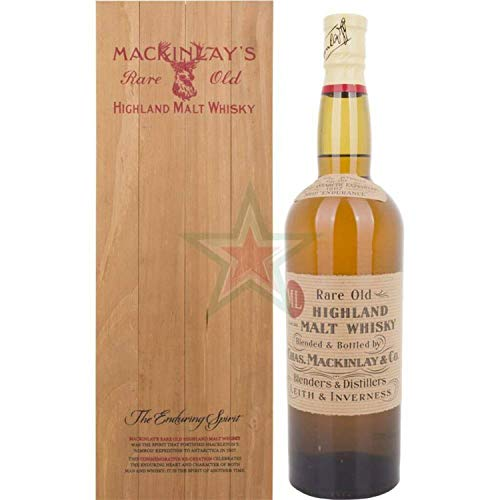 Mackinlay's RARE OLD Highland Malt Whisky in Holzkiste 47,30% 0,70 Liter