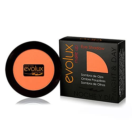 Noche y Dia Evolux by Night & Day Sombra de Ojos Color N.13 Naranja Mate, Evolux Eye Shadow 4 gr.