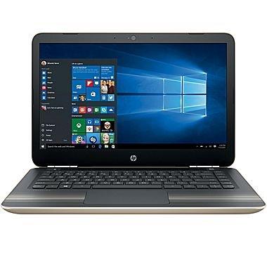 "HP Pavilion Business Flagship High Performance Laptop PC 14"" HD+ Display Intel i3-6100U Processor 8GB RAM 1TB HDD Backlit-Keyboard Webcam Bluetooth Windows 10-Modern Gold"
