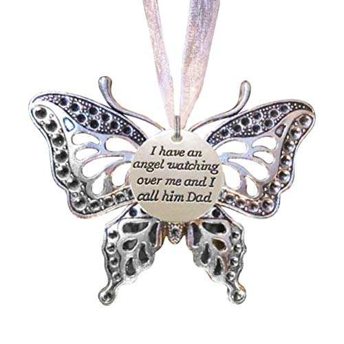 Memoria de la Mariposa Colgante de Recuerdo Adornos de aleación de Decoración Colgante de la Mariposa de la Familia de la chuchería de la decoración de Regalo Conmemorar