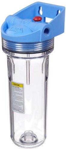 Pentek 158643 - 3/8' #10 3G IB SlimLine Clear Filter Housing w/pr