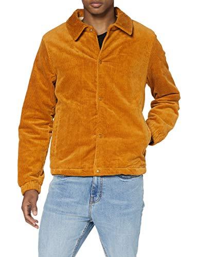 Scotch & Soda Mens Kordjacke aus Bio-Baumwolle mit Sherpa-Futter Jacket, Camel 0619, M