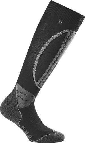 Rohner High Performance Chaussettes de Ski Noir Noir 42-44