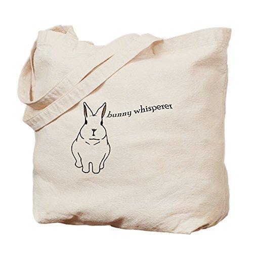 CafePress–Bunny 201811p–Leinwand Natur Tasche, Reinigungstuch Einkaufstasche