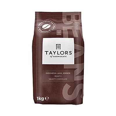 Taylors of Harrogate Indonesia Java Jember Single Origin Coffee Beans, 1kg (Pack of 2)