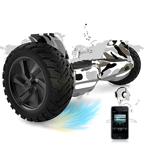 COLORWAY Overboard SUV 8.5 Pouces, Hover Scooter Board Gyropode Tout-Terrain, Bluetooth et...