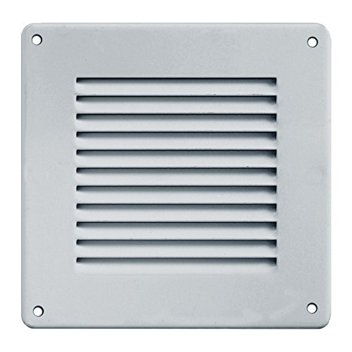 - Grille de ventilation métallique - Grille ventilation métal 140x140mm - Couleur inox