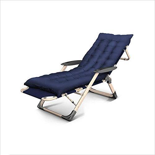 FGA Silla Plegable Sillón reclinable Oficina Almuerzo Balcón Portátil Ocio Volver Playa Silla Multifuncional Silla Plegable