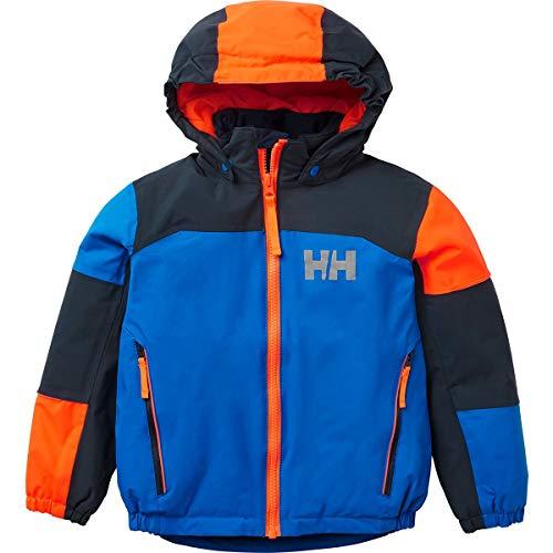 Hellyhansen Kid's Rider 2 Ins Jacket Children's, Sonic Blue, 8