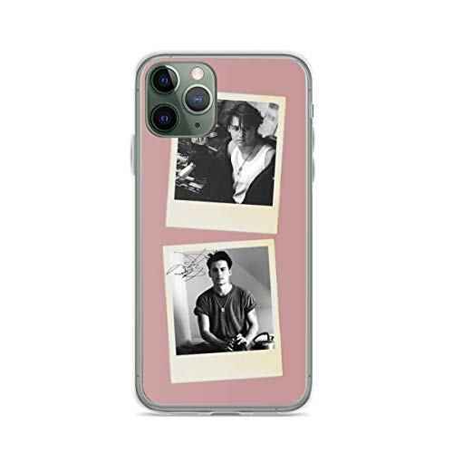 Phone Case Johnny Depp Pola-roid Compatible with iPhone 6 6s 7 8 X XS XR 11 Pro Max SE 2020 Samsung Galaxy Drop Funny Anti