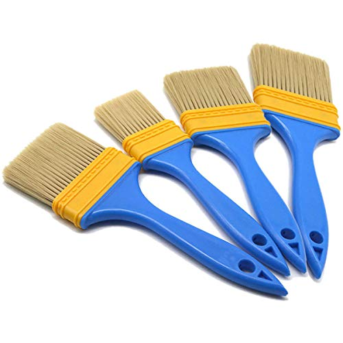 Malerpinsel-Set, Maler- und Hausbesitzer, Malerpinsel für Tür, Schrank, Decks, Zäune, 4 Größen