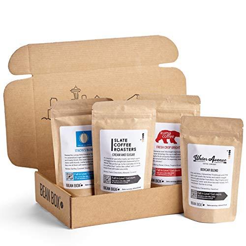 Bean Box - Gourmet Coffee Sampler - Espresso Roast