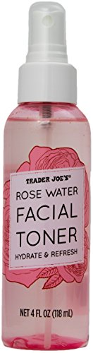 rose waters Rose Water Facial Toner Hydrate and Refresh by Trader Joe's (2 Bottles)