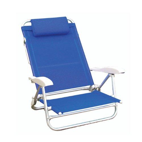 PAPILLON 8043415 Silla Playa Aluminio Bahama Azul