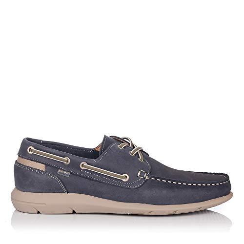 BAERCHI 7950 Zapato Nautico Piel Hombre
