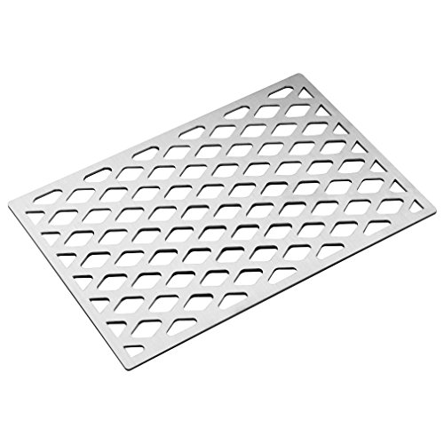 Stanbroil Cast Stainless Steel Diamond Pattern Replacement Cooking Grate for Weber 7525 9869 7526 7527, Fits Spirit Genesis Grills, Lowes Model Grills