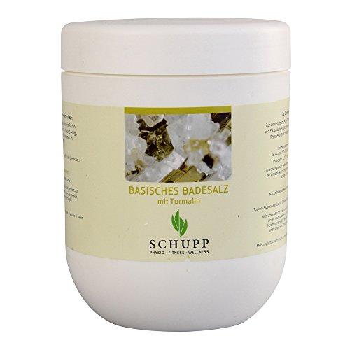 sels de bain type basique avec Tourmaline de SCHUPP GMBH & CO.KG - 1kg