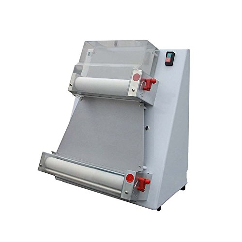 zorvo Pizza Press Machine Commercial 16 inch Automatic Large Pasta Maker Machine Pizza 2 Rollers Pizza Dough Sheeter Suitable for Pizza Bread and Pasta -Shipping from USA,3-5 Days for DELIVERY
