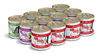 Weruva Dogs In The Kitchen Variety Pack Doggie Dinner Dance! Wet Dog Food 10Oz Cans  Pack Of 12