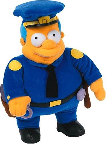 United Labels 1000179 - Simpsons-Plüsch Figur Chief Wiggum 31 cm