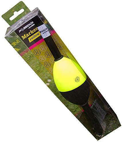 Poseidon Markerboje Coloured 28cm - Marker Boje zum Markieren des Spots beim Karpfenangeln, Markerpose zum Angeln auf Karpfen, Poseidon Farbe:Yellow