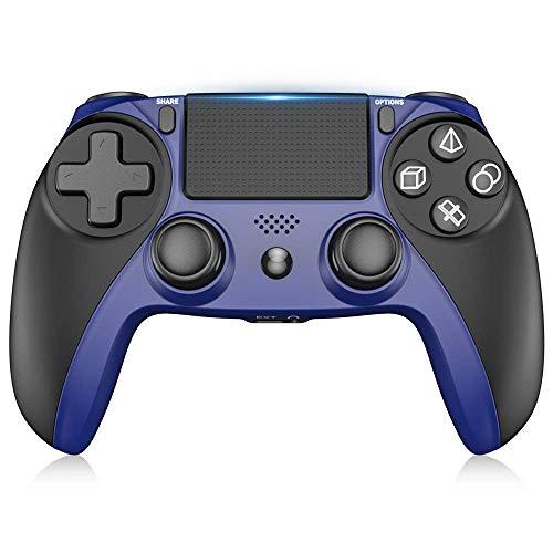 Wireless Controller für PS4, RegeMoudal Rechargeable Joysticks für PS4 / PS4 Pro /PS4 Slim/PC, Bluetooth Controller für Playstaion4 mit Doppelter Vibration, Touch Panel und 3,5 mm Audio Jack