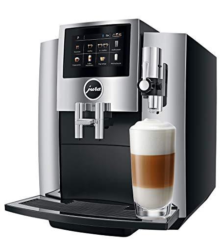 Jura 15187 S8 Kaffeevollautomat, Schwarz, Chrom