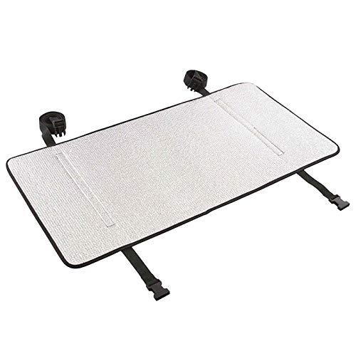DELITLS Cubierta del aire acondicionado, protección solar Anti-UV al aire libre impermeable película de aluminio (tamaño: 165x55cm)