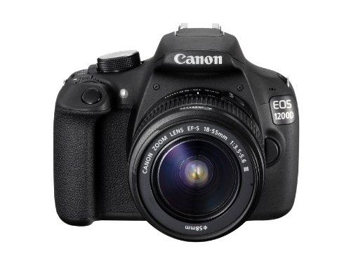 Canon EOS 1200D Digital SLR Camera with EF-S 18-55mm f/3.5-5.6 III Lens - International Version (No Warranty)