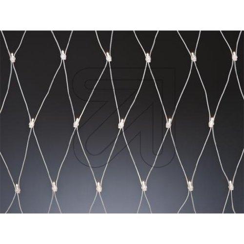 Star 466-18-33 System LED Net-Extra, 192 L Couleur Froid, câble: Blanc ca. 3 m x 3 m, extérieur, connectable, Boite coloré