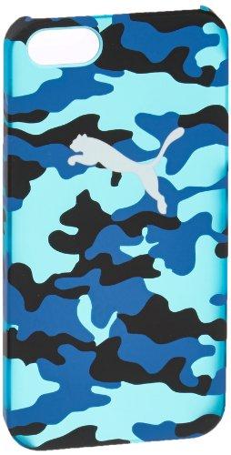 PUMA Handy Schutzhülle Bytes Phone Case, French Blue-french Blue-Camo, 12.5 x 6.1 x 0.9 cm