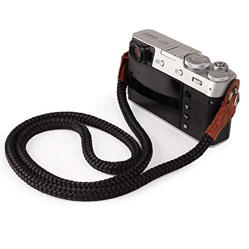 MegaGear Baumwollband Komfortpolsterung, Sicherheit für alle Kamera |Groß 100cm/39inc| (schwarz)
