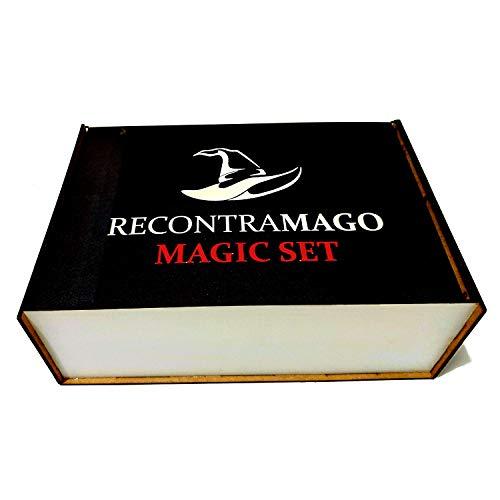 RecontraMago Caja de Magia - Los Mejores Juegos de Magia (Profesional Magic Kit)