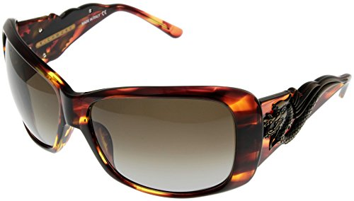 John Richmond Sunglasses Womens JR674 02 Gold Brown Bronza