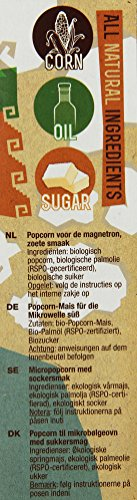 Yum Kah BIO Mikrowellen Popcorn süß, glutenfrei - 2