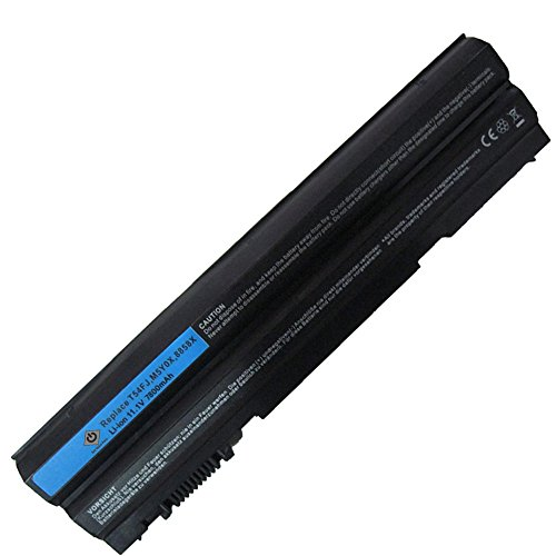 Bay Valley PartsNew Laptop Battery for DELL Latitude E6420 E5420 E6520 E6430 E5520 E5530 T54FJ 009K6P 04NW9 05G67C 08858X 09K6P 0F33MF 0FRR0G 0HCJWT 0NHXVW Li-ion 9 Cell 11.1v 7800mAh/86WH