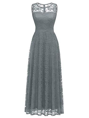 WedTrend Długa sukienka dla druhny, sukienka wieczorowa, bez rękawów