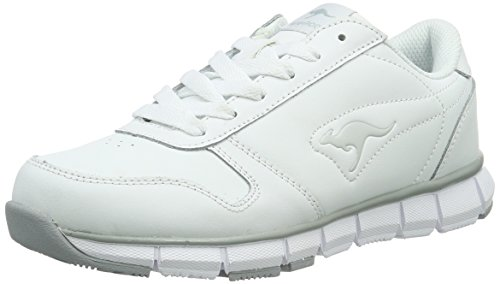 KangaROOS Herren K-BlueRun 700 B Low-Top, Weiß (White/Lt Grey 002), 39 EU