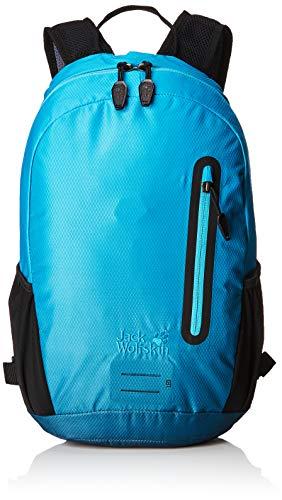 Jack Wolfskin Halo 12 Pack Fahrrad Wander Rucksack, Aurora Blue, ONE Size