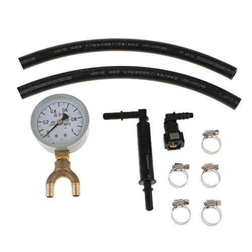 Öldruckprüfung Manometer-Kit Oil Pressure Testers Oil Pressure Gauge Öldruckprüfer Benzin Öleinspritzpumpe Manometer