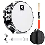 Vangoa Snare Drum Kit, Marching Snare Drum, 14' x 5.5' with 10mm Padding Carry Bag, 5A DrumSticks,...